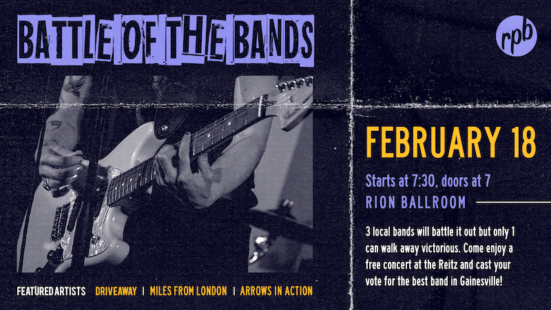 Image of the Battle of the Bands poster
