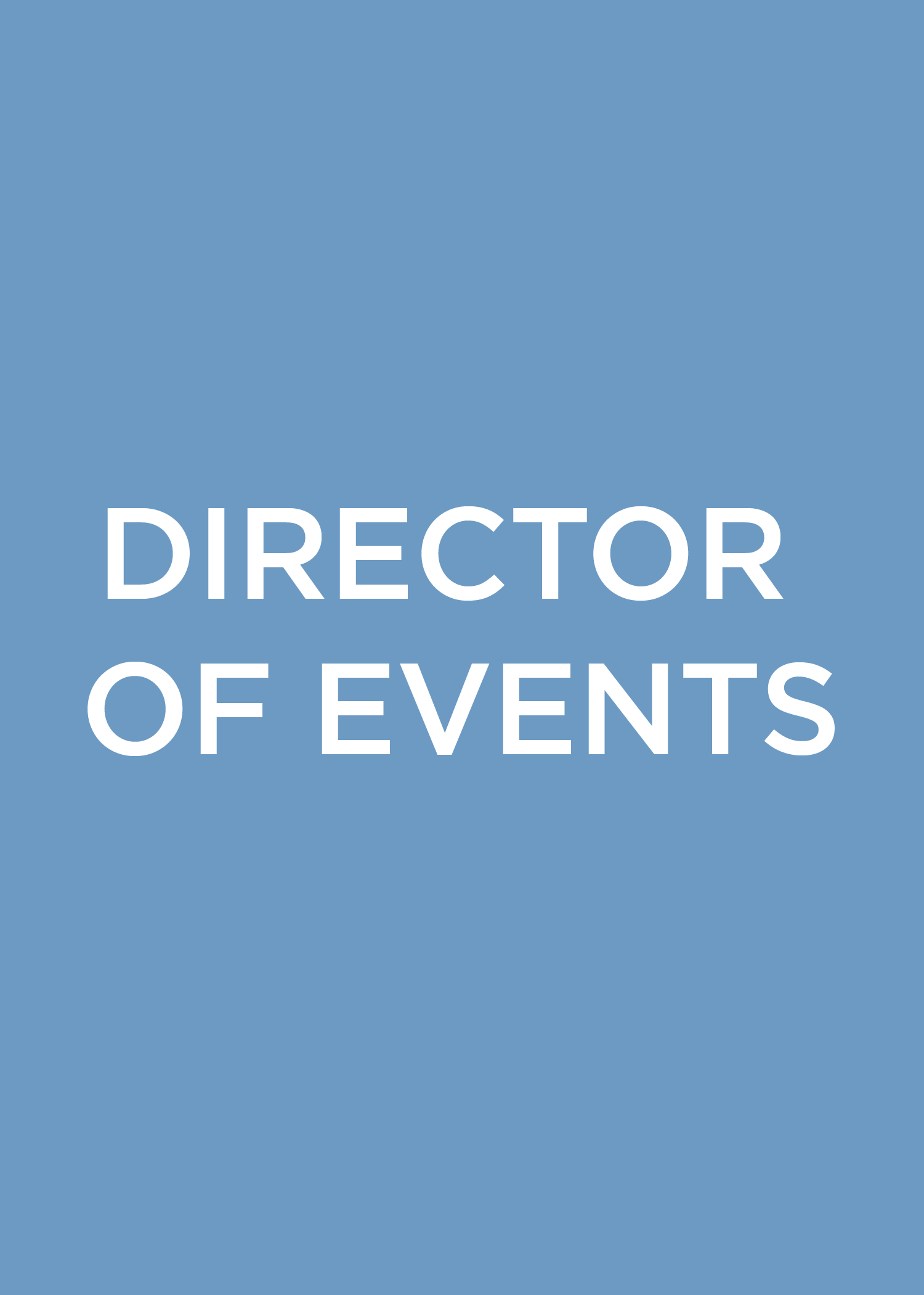Director of Events