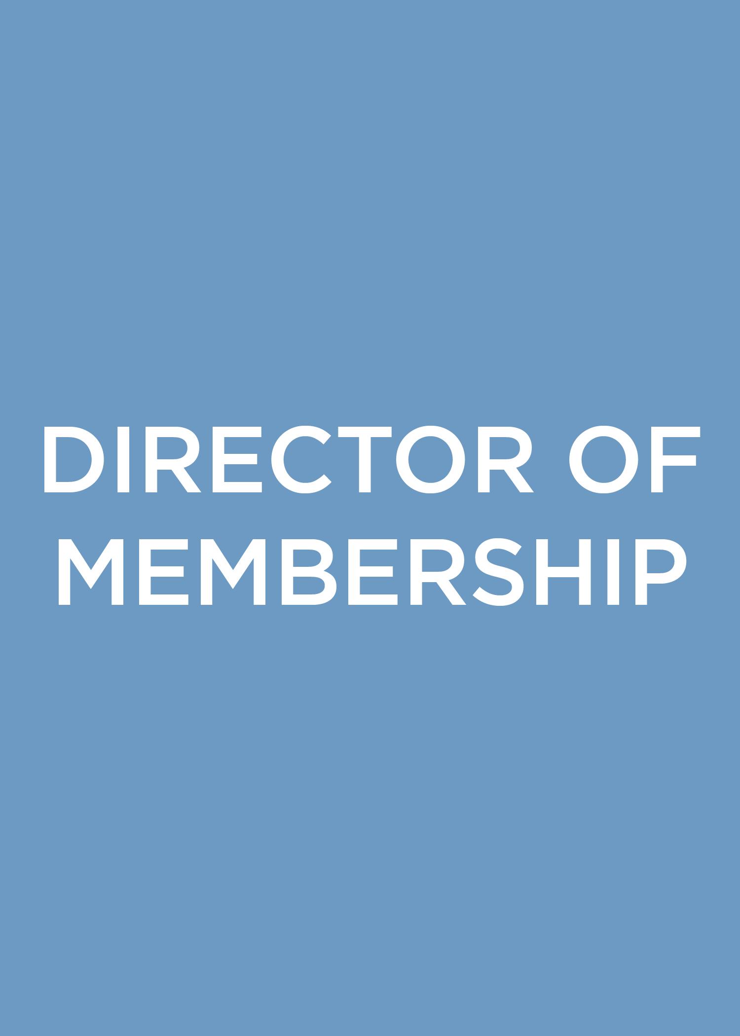 Director of Membership